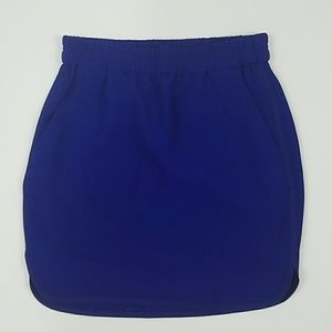 J. Crew Petite Crepe Pencil Skirt